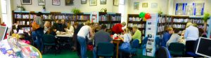 Community activity at the library